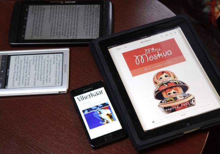 Tallinna Keskraamatukogu teeb e-raamatud tasuta kättesaadavaks kõigile Eesti elanikele