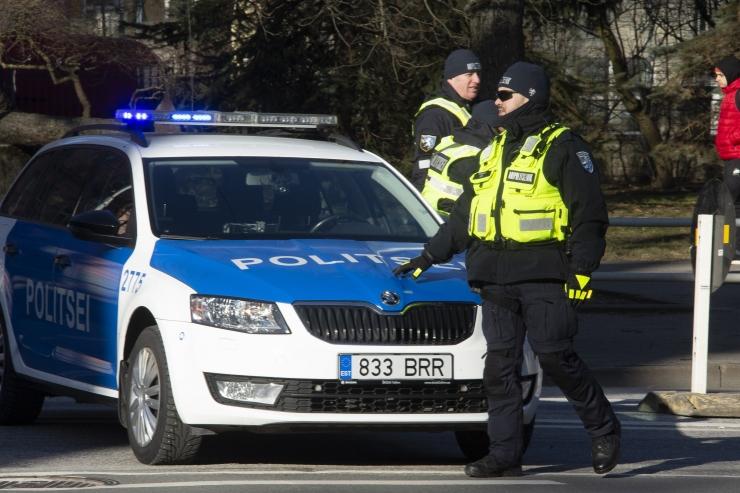 Korrakaitsjatega ülbitsenud nooruk paigutati arestimajja