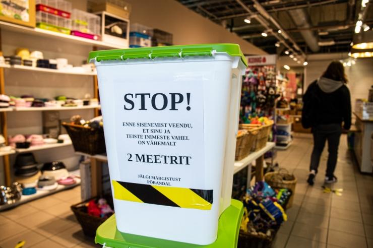 Kaubandusettevõtetes liikumisvabaduse piirangu kehtestamise kohta