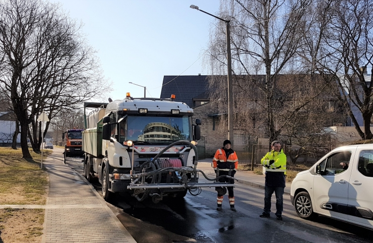 VIDEO! Tallinna kesklinna tänavatel käib teine koristusring