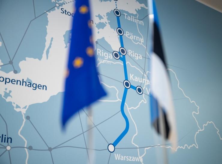 Uuring: üle poolte hindab Rail Baltica mõju Eestile positiivseks