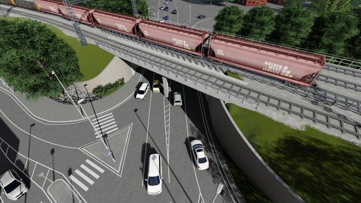 VIDEO! Paldiski maantee viadukti ehitustööd suurendavad Balti jaama läbilaskevõimet