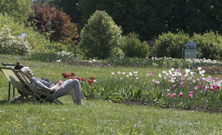 Tallinna Botaanikaaia väliala on tänasest piletiga külastajale taas avatud