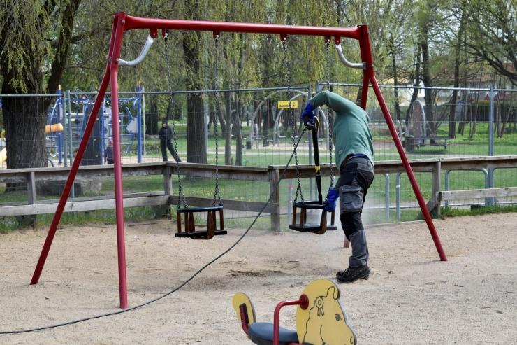 VIDEO: Kristiines avatakse taas avalikud spordiplatsid ja mänguväljakud