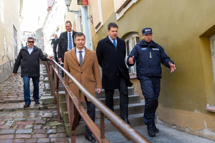 VIDEO JA FOTOD! Kõlvart: me avame Tallinna päeva, aga ka eriolukorras linna