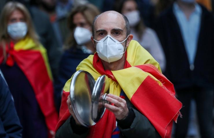 Hispaania koroonasurmade arv oli kahe kuu madalaim