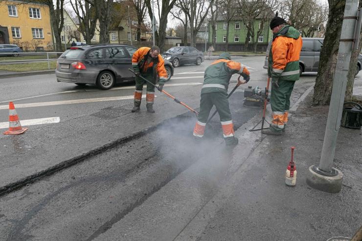 Koidu tänava remont Tallinnas hakkab lõpule jõudma