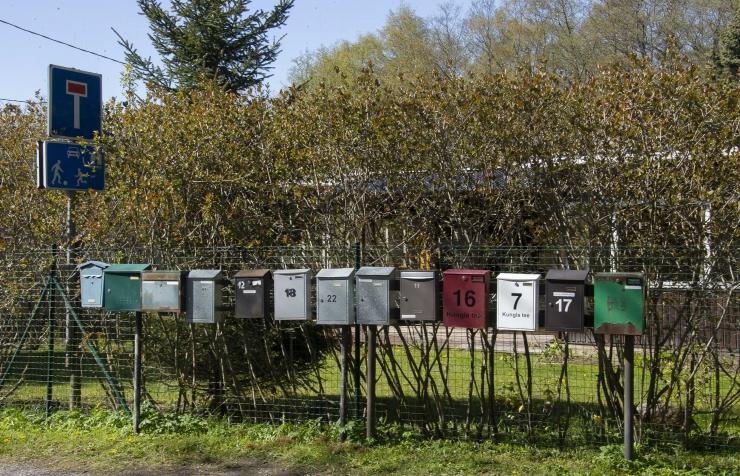 Eesti Post kutsub taas kogukondi grupipostkaste paigaldama