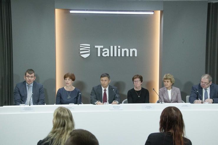 VAATA OTSE KELL 10: Tallinna linnavalitsuse pressikonverents
