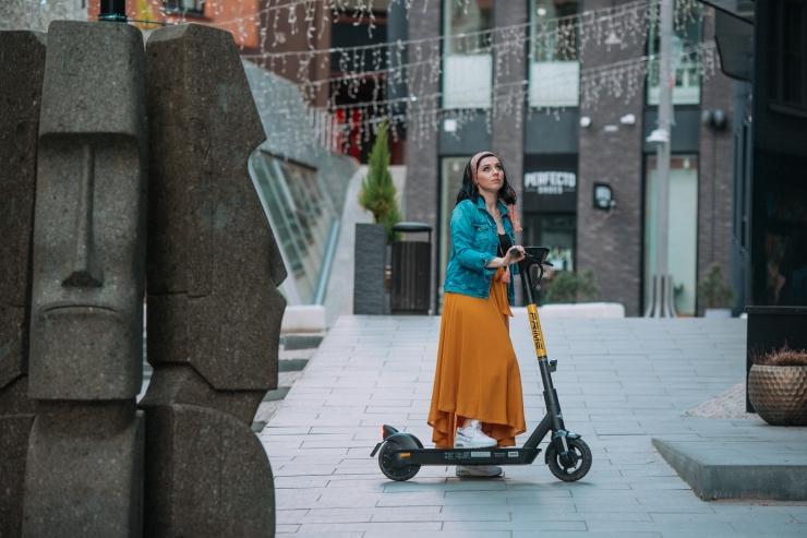 Prime.Bike alustas Tallinnas USA firma Bird tõukerataste rendiga
