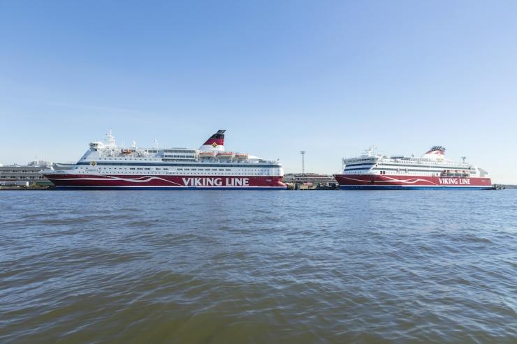 Viking Line tihendab 1. juunist Tallinna-Helsingi liinil liiklust