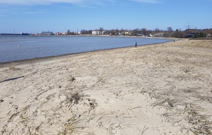 VIDEO! Pikakari rannas lehvib juulist taas Sinilipp