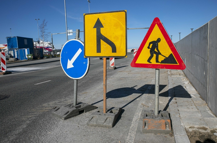 Haaberstis uuendatakse 17 000 ruutmeetrit kvartalisiseste kõnni- ja sõiduteede asfaltkatteid