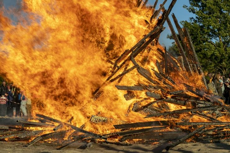 Teeme jaanituled ohutuks – hakka lõkkevalvuriks!
