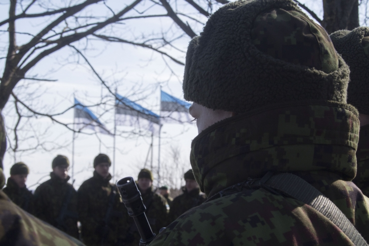 Eesti tänas Eestis teenivaid Taani kontingendi liitlassõdureid