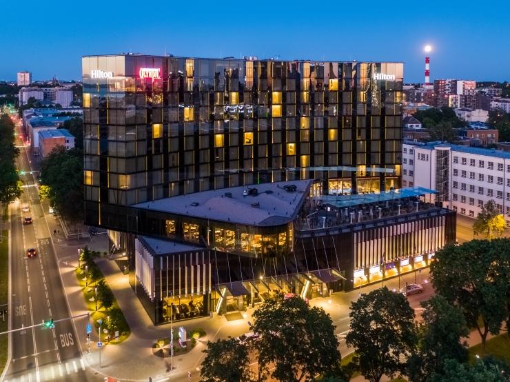 Hilton Tallinn Park Hotel sai esimese hotellina Eestis BREEAM sertifikaadi