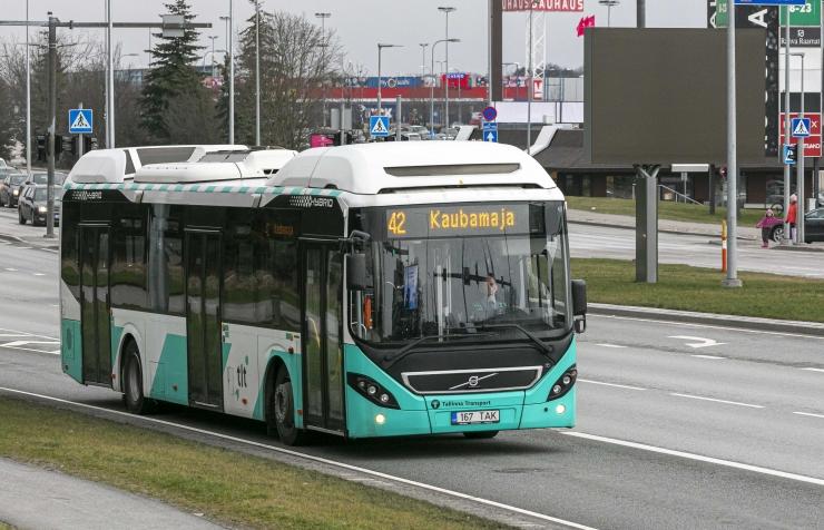Ühistranspordi kasutajate arv vähenes esimeses kvartalis viiendiku