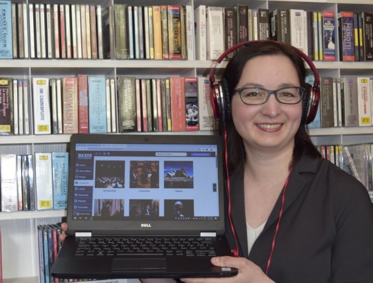 Tallinna Keskraamatukogu pakub veebi teel kuulamiseks laia valikut klassikalist muusikat ja džässi