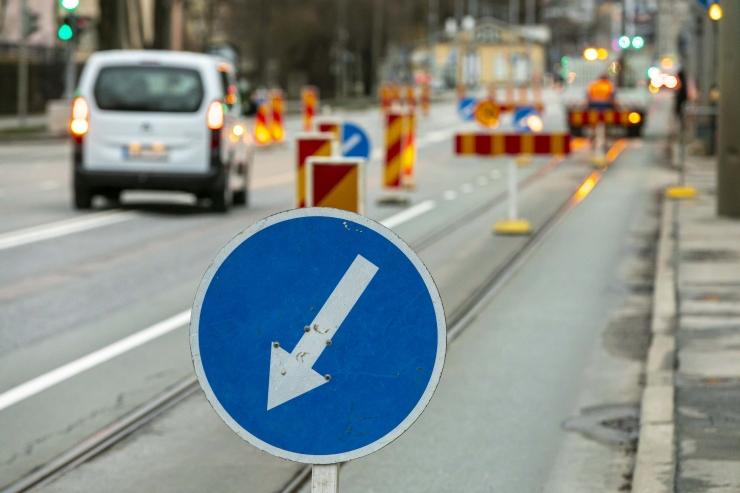 Veeavarii muudab Pärnu maanteel liiklust