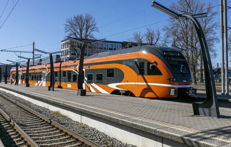 Paldiski jaama remont muudab rongide sõiduplaane