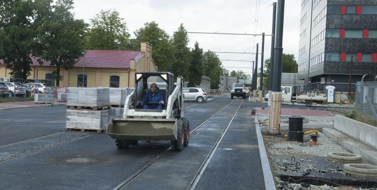 Tallinnas Koidu tänaval lõppes remont