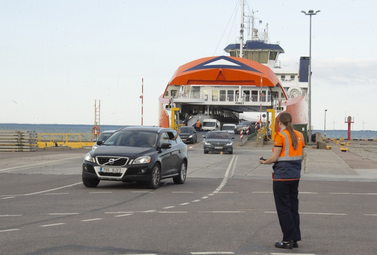 Läti president ootab Läti ja Saaremaa vahelist laevaliini