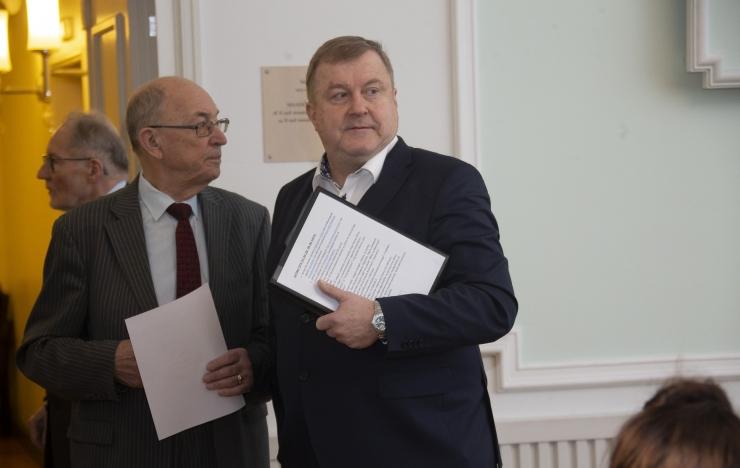 VIDEO! Aivar Mäe töösuhte osas Estonia nõukogu otsust ei teinud