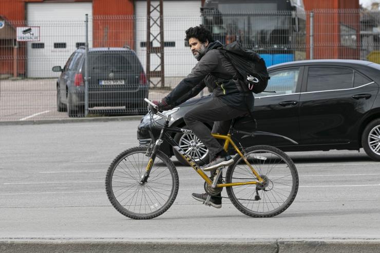 Päeva ainsas tõsisemas liiklusõnnetuses sai viga purjus jalgrattur