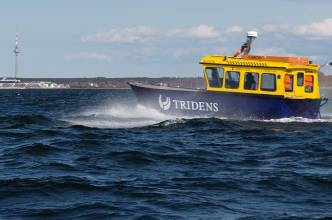 VAATA VIDEOT! Meretakso viib Piritalt tööle mööda merd