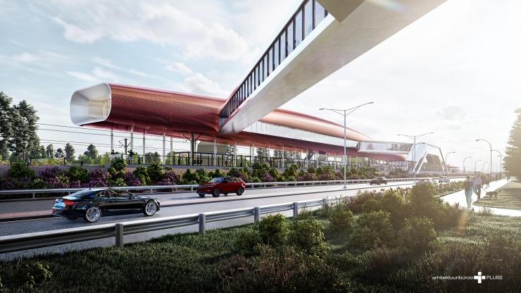 Rail Baltica Pärnu rahvusvahelise reisiterminali projekteerimine on jõudnud vahepeatusesse
