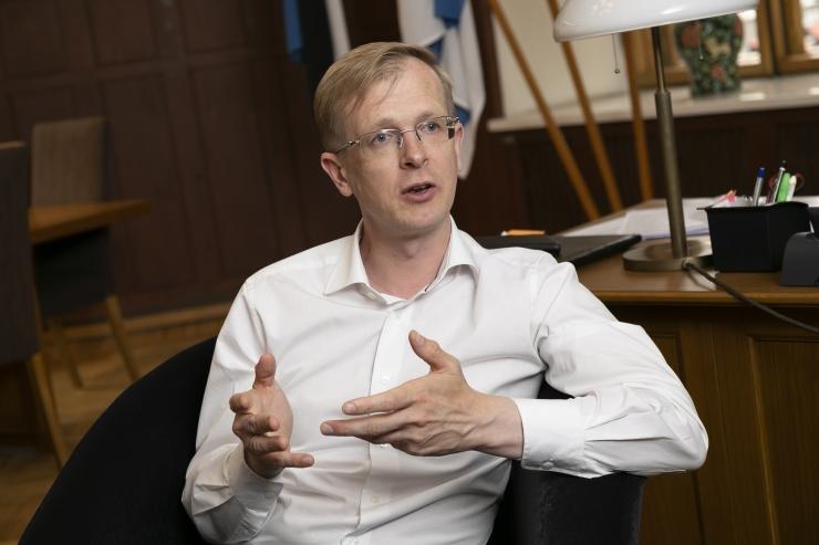 Tiit Terik: esimees võiks muude poliitiliste jõududega koostööd teha