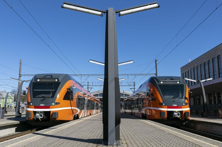 Eesti Raudtee katsetab rongide suuremat sõidukiirust