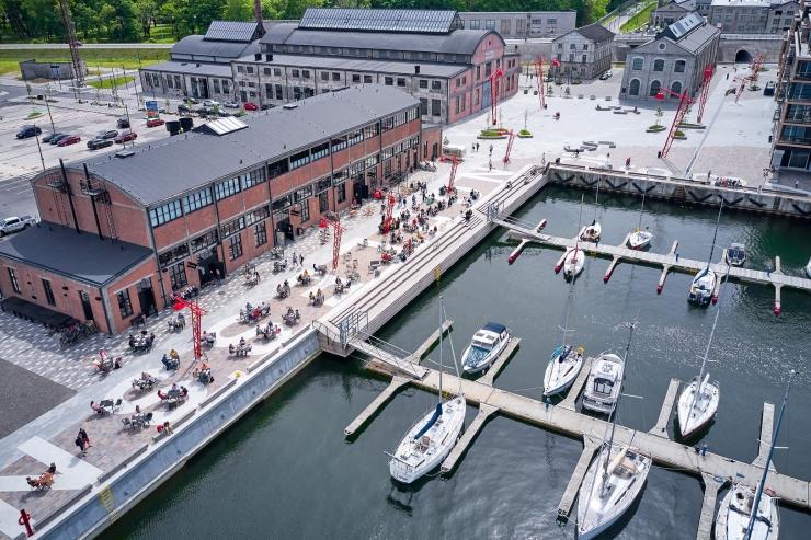 Eestis saavad nüüd ka väikelaevad kasutada m-parkimist
