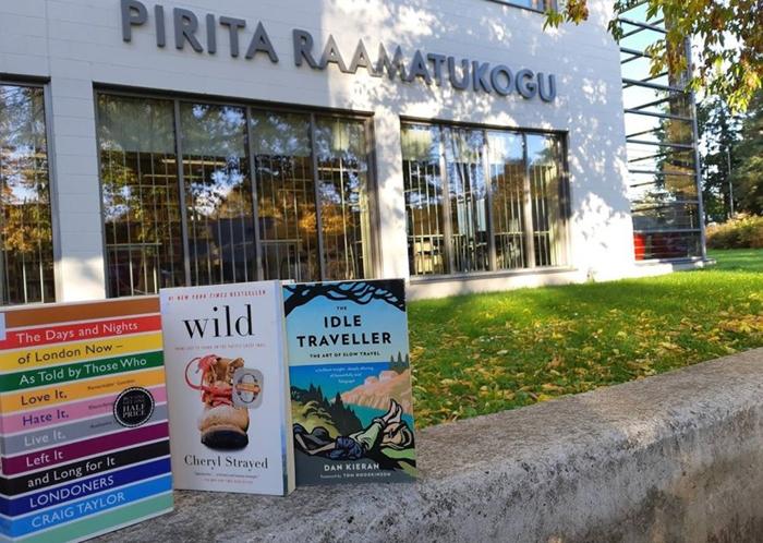 Pirital avatakse õueraamatukogu