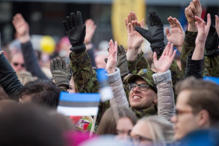 Luik: iga ajateenija roll on Eesti kaitsmisel võtmetähtsusega