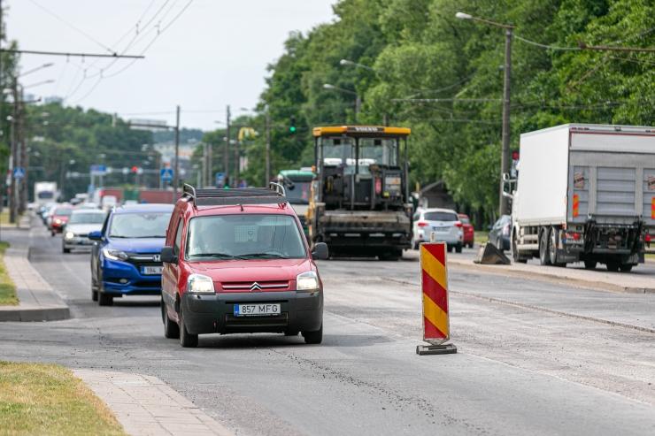 Riia muutis Tartu-nimelise tänava kuuks ajaks autovabaks