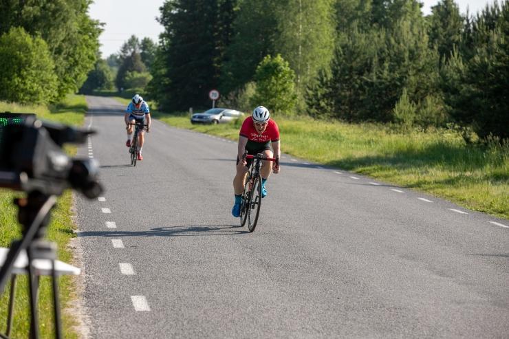 Eesti noored maanteeratturid tõid Leedust kaksikvõidu