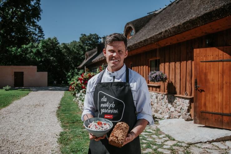 VAATA RETSEPTE: Üllata külalisi grill-liha asemel kruubisalati ja isetehtud leivaga!