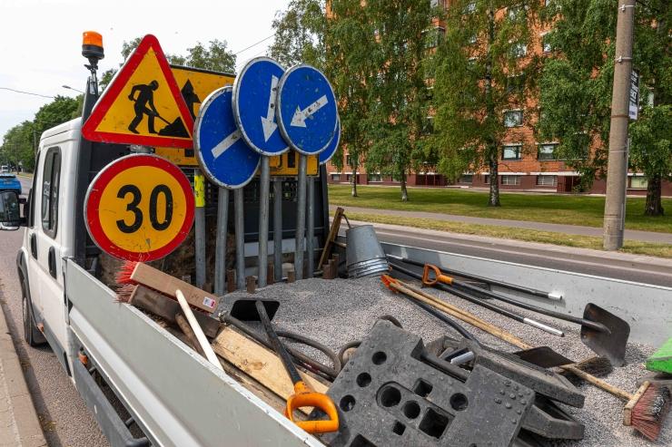 Nõmmel alustatakse Viljandi maantee rekonstrueerimisega lõigul Liivametsa tänav – Pärnu maantee