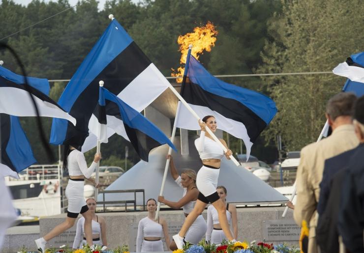 GALERII JA VIDEO! Tallinn tähistas olümpiaregati 40. aastapäeva