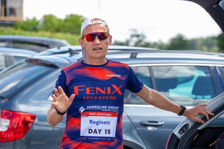 Ratasepp on kahekümne maratoni järjestikuses läbimises maailma kiireim