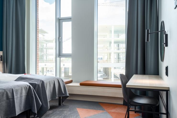 VIDEO JA FOTOD! Tallinna sadamas avati kontaktivaba teenindusega hotell