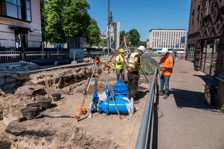 VIDEO! Tallinna Roosikrantsi tänavast saab arheoloogide töömaa