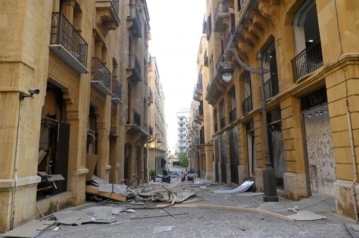 SUUR KAOS: Beiruti plahvatuses jäi kodutuks kuni 300 000 inimest