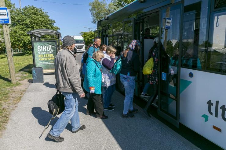 VIDEO: Tiskre piirkonnas muutus ajutiselt bussiliini nr 4 marsruut