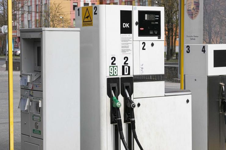 Tallinna kütusehinnad püsivad nädal aega samal tasemel