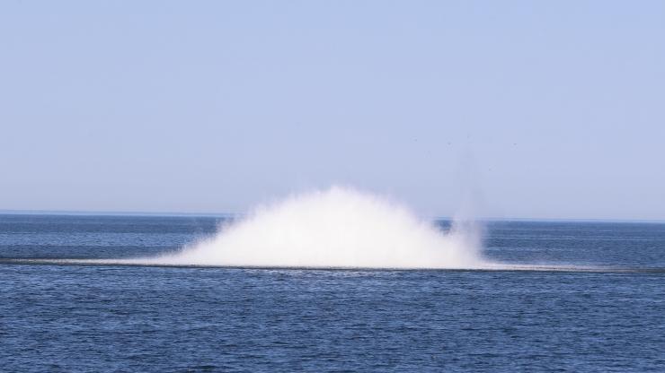 Esmaspäeval algab Balti merevägede miinituukrite õppus