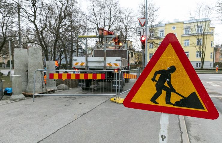 VIDEO! Luise tänav suleti ajutiselt liiklusele