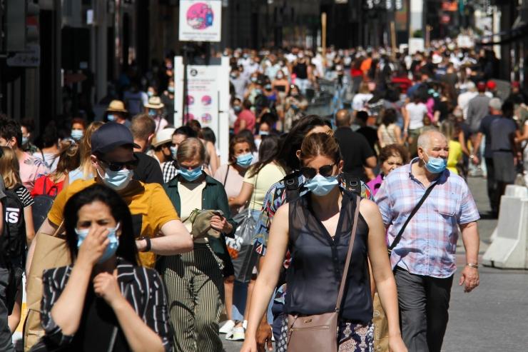 KOROONAGA VÕIDELDES: Brüsselis on nüüdsest maskide kandmine kohustuslik