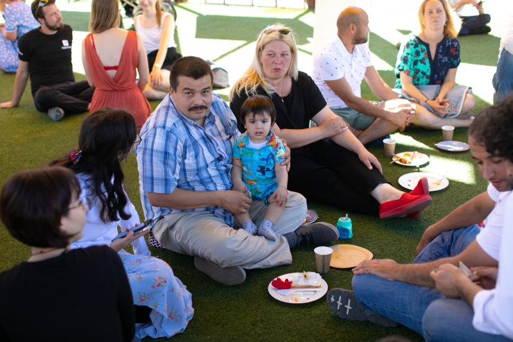 PILDID: Pagulasabi pakkus taasiseseisvuspäeva puhul lõunat